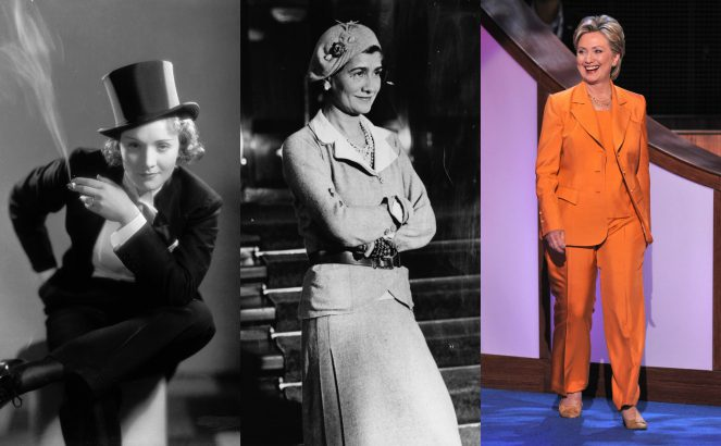 The history of Women's Suits