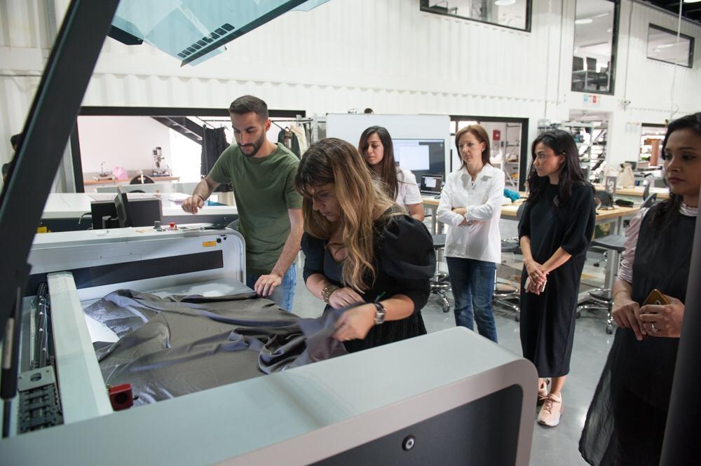 Laser Cut Techniques For Fashion Design Workshop With Myrto Dramountani Arte Lusso